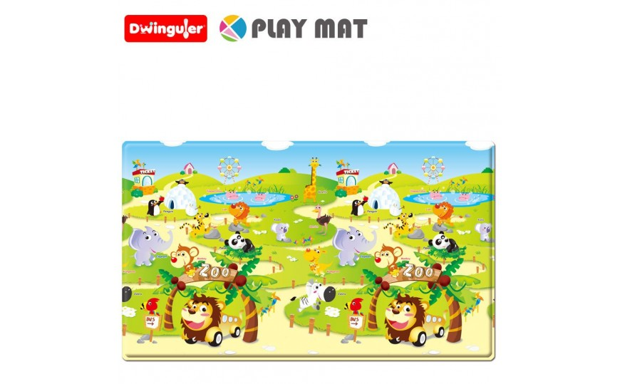 Dwinguler Playmat Playmat For Kids Zoo - Medium